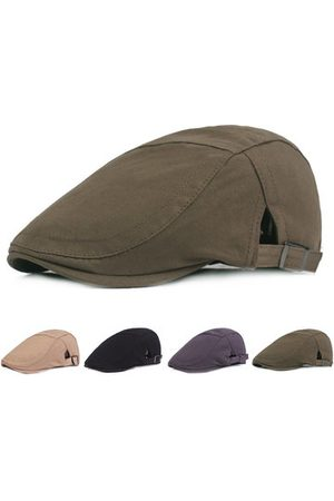 Newchic Men Caps - Mens Adjustable Cotton Beret Caps