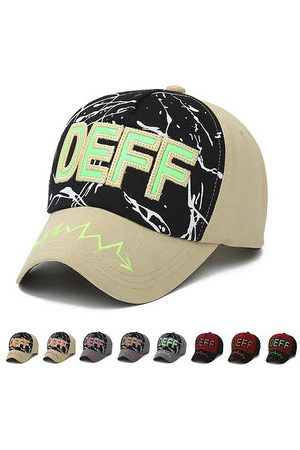 Newchic Men Women Baseball Cap Letter Embroidered Graffiti Casual Outdoor Snapback Hat