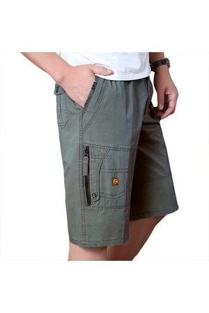 Newchic 100% Cotton Zipper Fly Cargo Shorts