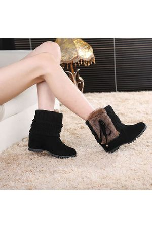 Newchic Women Ankle Boots - Fur Warm Ankle Boots For Women