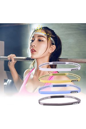 Newchic Sports Hair Bands Elastic Pilates Yoga Silicone Guiding Belt