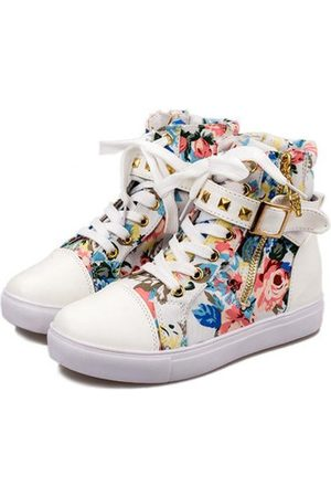 Newchic Floral Prints Canvas Casual Shoes