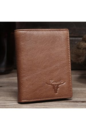 Newchic Genuine Leather Casual Short Wallet For Men