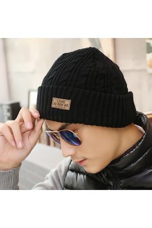 Newchic Men Warm Winter Casual Beanies Knitted Hats