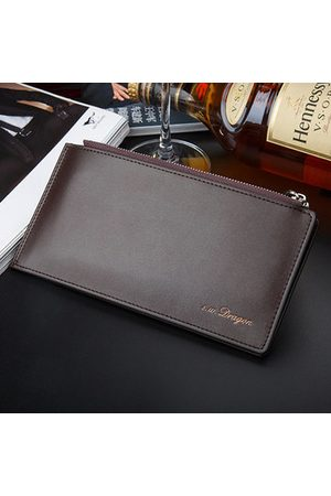 Newchic Men Multi-functional 16 Card Slot Long Business Wallet