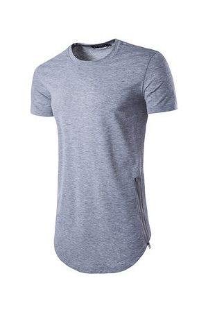 Newchic High Street Solid Color Casual T shirt