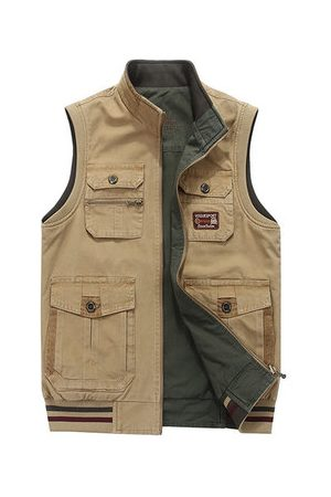 Newchic Men Outdoor Jackets - Mens Fishing Outdoor Vest