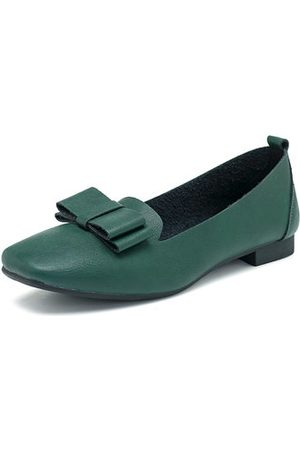 Newchic Bow Tie Slip On Female Flat Loafers For Women