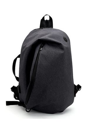 Newchic Oxford USB Charging Outdoor Travel Crossbody Bag Backpack