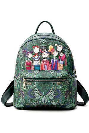 Newchic Women Bohemian Forest Series Backpack