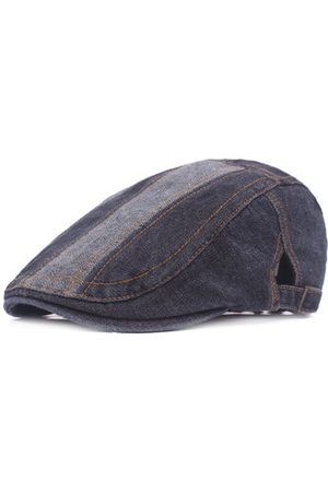 Newchic Men Caps - Washed Denim Beret Cap