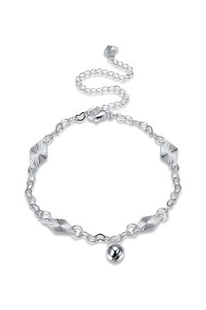 Newchic Women Anklets & Toe-rings - YUEYIN Simple Anklet Silver Bell Casual Anklet