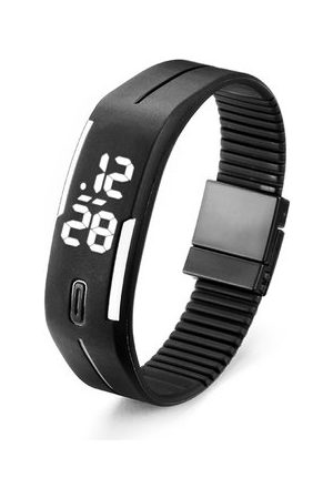 Newchic Unisex Silicon LED Sport Watch