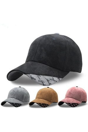 Newchic Men Caps - Deerskin Patchwork Baseball Cap