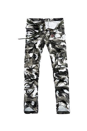 Newchic Military Camo Multi Pockets Cargo Pants