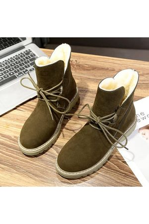 Newchic Suede Fur Lining Boots