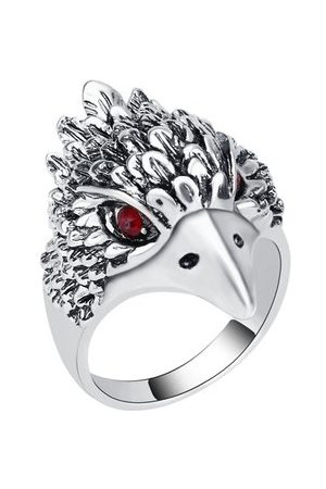 Newchic Punk Eagle Plating Inlay Ring
