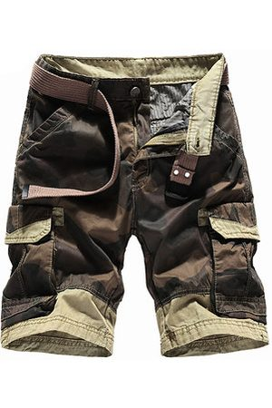 Newchic Breathable Cotton Casual Cargo Shorts