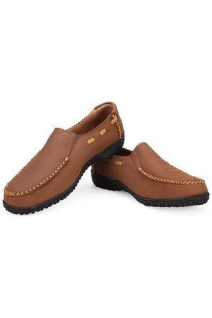 Newchic Large Size Men Shoes Genuine Leather Slip On Casual Shoes