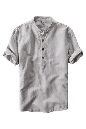 Newchic Chinese Style Linen Vintage T Shirt