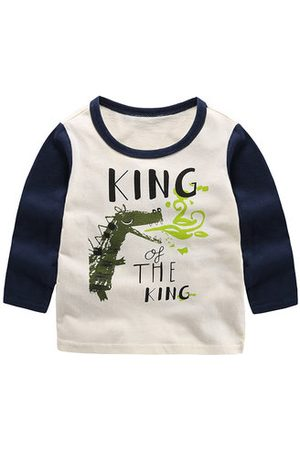 Newchic Printed Boys Long Sleeve Tops