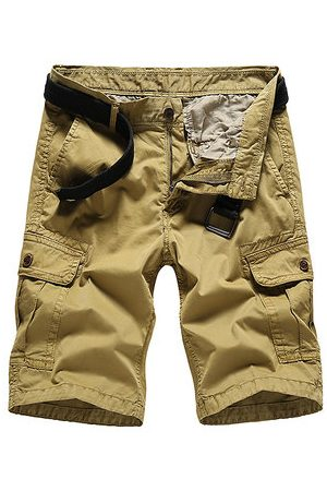 Newchic Multi-pocket Knee Length Cargo Shorts