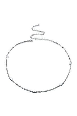 Newchic Women's Sweet Anklet Silver Sweet Heart Anklet