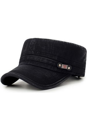 Newchic Mens Sunshade Cotton Flat Top Caps
