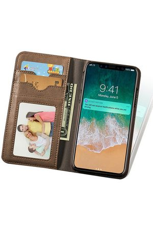 Newchic Leather Wallet Phone Case Slim Flip Cover Kickstand