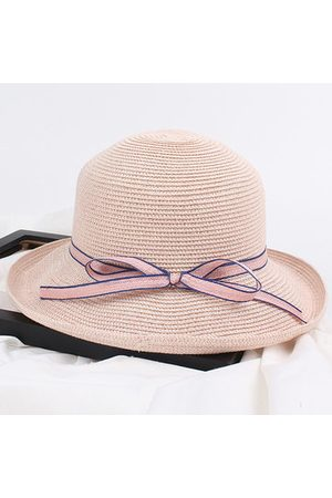Newchic Wide Brim Floppy Straw Sun Hat Beach Women Hat Foldable Hat