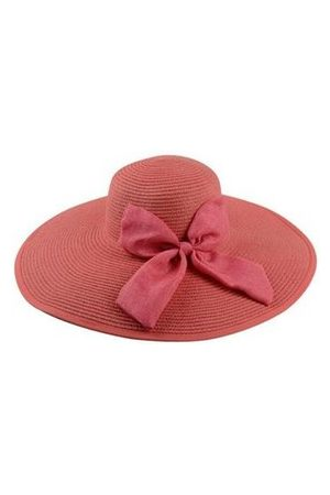 Newchic Foldable Wide Brim Women Sun Summer Beach Bow Cap Boheimia Floppy Straw Hat