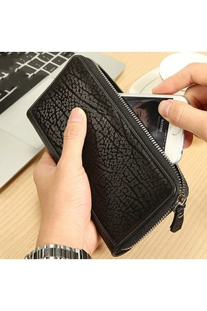 Newchic Genuine Leather Long 12 Card Slots Wallet Phone Clutch Bag