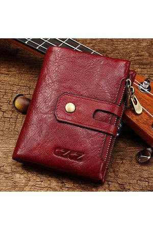 Newchic Genuine Leather Bifold Wallet Female Small Wallet