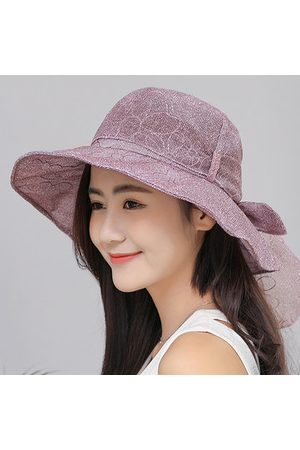Newchic Women Cotton Foldable Bucket Hat