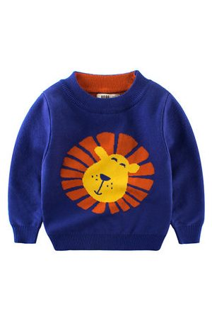 Newchic Knitted Lion Boy Sweater Pullovers
