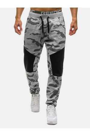 Newchic Camouflage Elastic Waist Jogger Pants