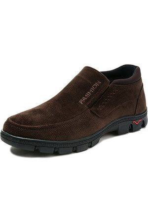 Newchic Men Plush Lining Old Beijing Style Shoes