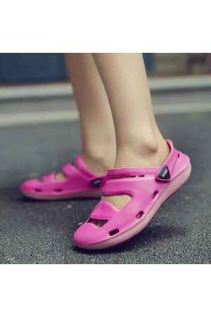 Newchic Hollow Out Multiway Slippers Flat Beach Sandals