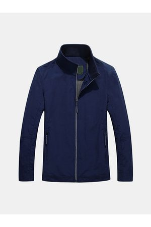 Newchic Casual Mesh Liner Solid Breathable Jackets