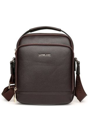 Newchic Vintage Men Business Casual Shoulder Bag Crossbody Bag