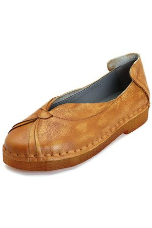 Newchic SOCOFY Soft Flat Casual Loafers