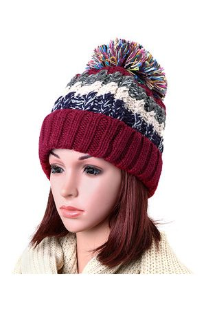 Newchic Women Outdoor Colorful Snow Knitted Beanie Hats