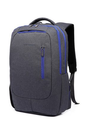Newchic 14/15 Inch Nylon Waterproof Laptop Bag With USB Charger Casual Travel Backpack For Men Women