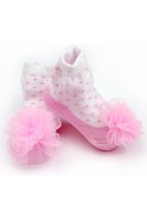 Newchic Pink Sweet Style Cotton Baby Socks