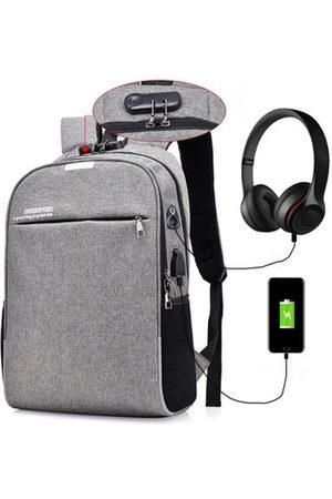 Newchic Anti-theft 17 Inches Laptop Bag With USB Charger Backpack