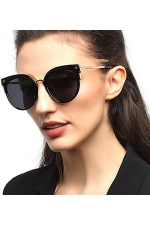 Newchic Women Vintage Polarized Cat Eye Sunglasses