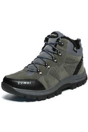 Newchic Men Large Size Outdoor Hiking Shoes