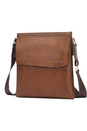 Newchic Men Vintage Business Shoulder Bag Crossbody Bag
