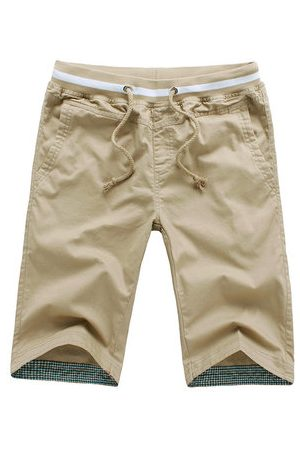 Newchic Summer 100% Cotton Breathable Casual Shorts