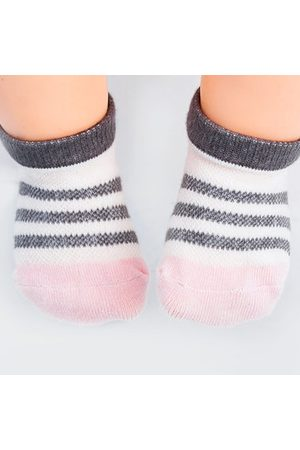 Newchic TUBENG Baby Summer Thin Section Mesh Cotton Boat Socks Breathable Sweat Soft Socks